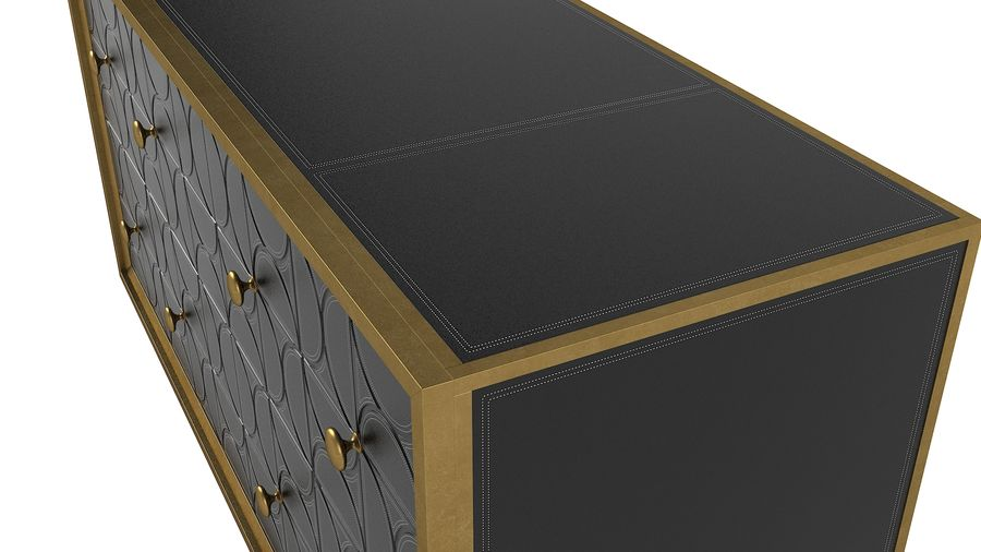 John Richard Hadleigh Sideboard royalty-free 3d model - Preview no. 6