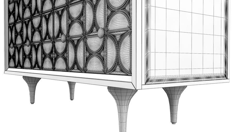 John Richard Hadleigh Sideboard royalty-free 3d model - Preview no. 10