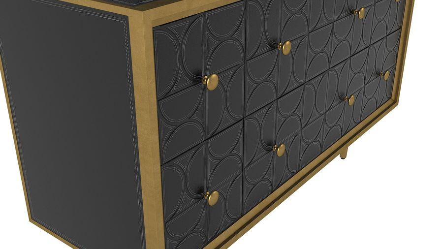 John Richard Hadleigh Sideboard royalty-free 3d model - Preview no. 8