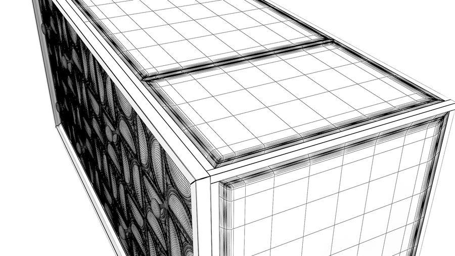 John Richard Hadleigh Sideboard royalty-free 3d model - Preview no. 9
