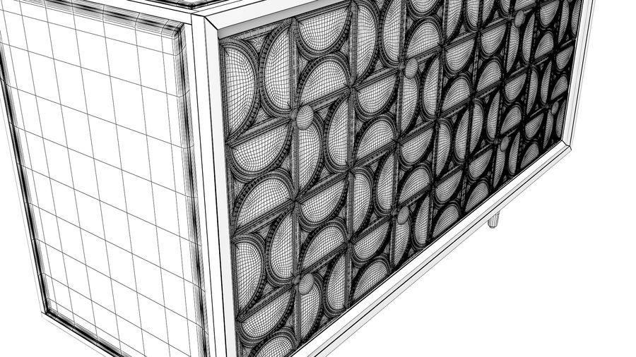 John Richard Hadleigh Sideboard royalty-free 3d model - Preview no. 11