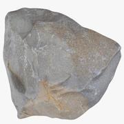 Mountain Rock 01 3d model