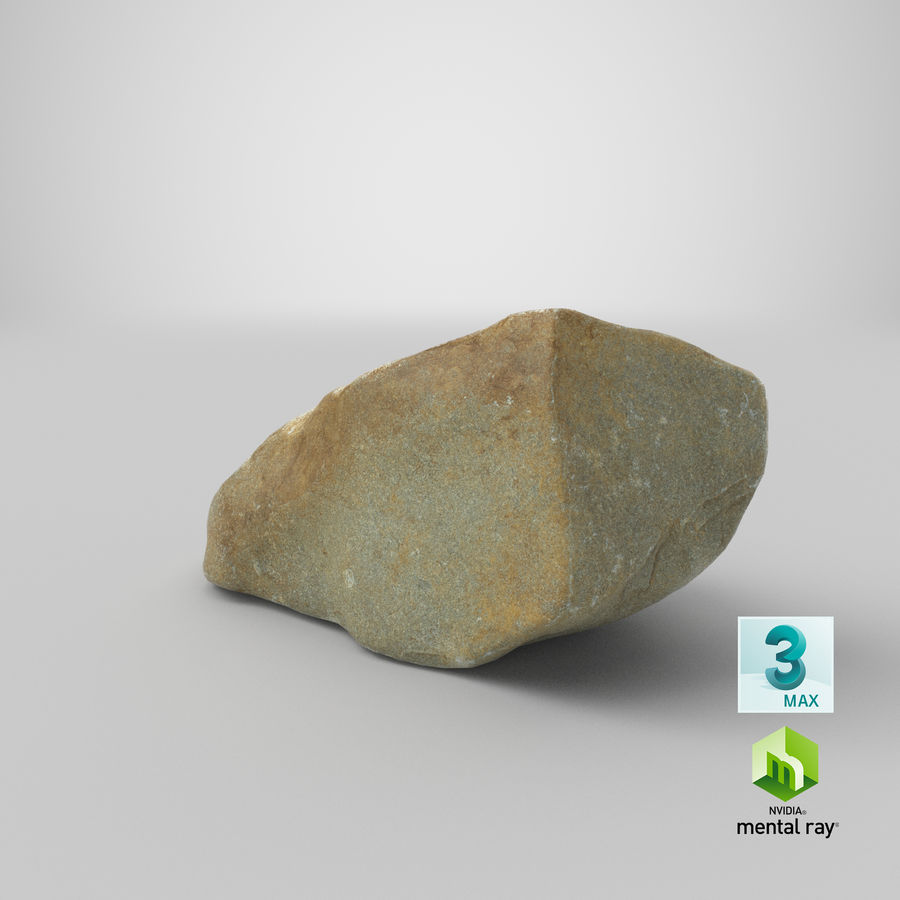 Mountain Rock 03 royalty-free 3d model - Preview no. 25