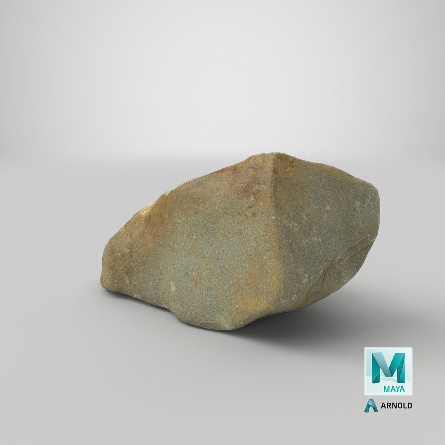 Mountain Rock 03 royalty-free 3d model - Preview no. 27
