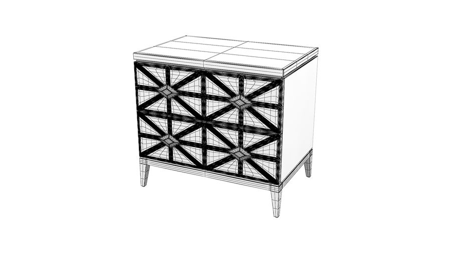 John richard andrial-nightstand royalty-free 3d model - Preview no. 5