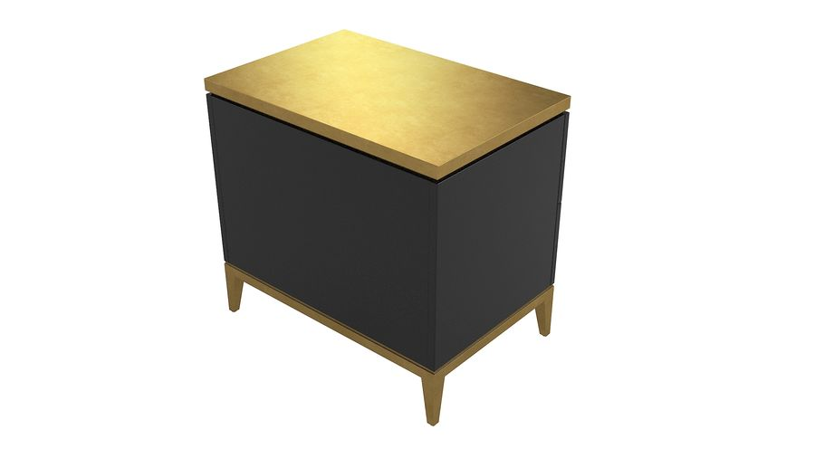 John richard andrial-nightstand royalty-free 3d model - Preview no. 4