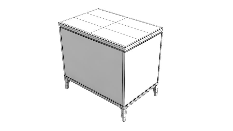 John richard andrial-nightstand royalty-free 3d model - Preview no. 7