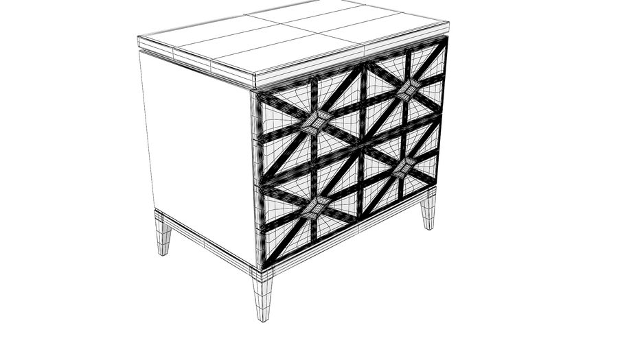 John richard andrial-nightstand royalty-free 3d model - Preview no. 6