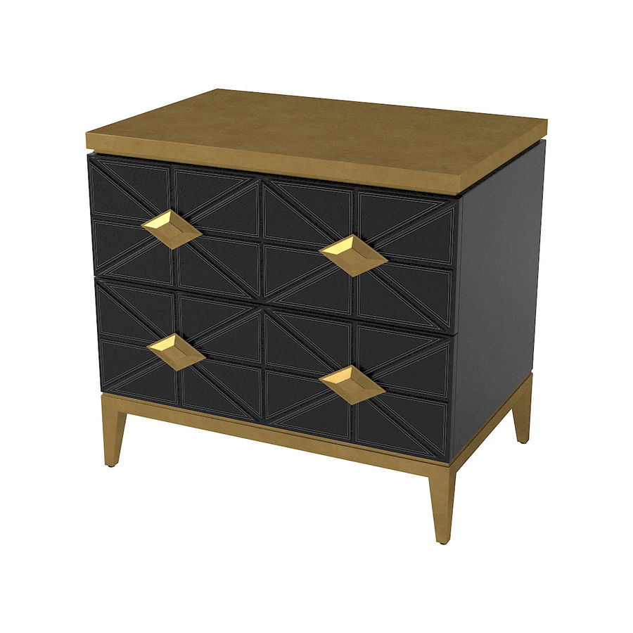 John richard andrial-nightstand royalty-free 3d model - Preview no. 1