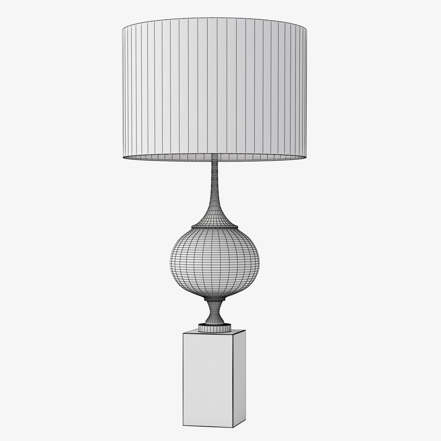 EPIC TABLE LAMP royalty-free 3d model - Preview no. 4