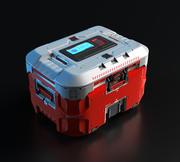 3D Concept sci fi box 3d model