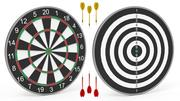 DartBoard - Realistic 3d model