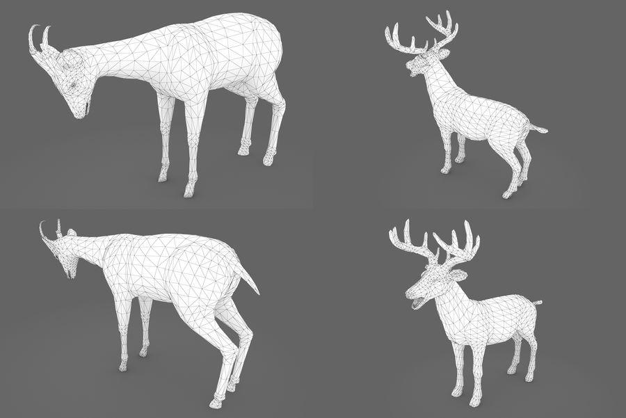 Collezione Animals Mega royalty-free 3d model - Preview no. 4