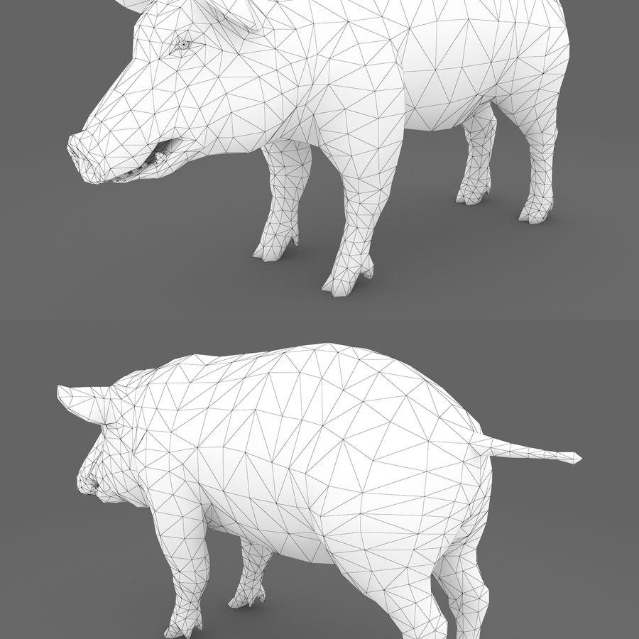 Collezione Animals Mega royalty-free 3d model - Preview no. 11
