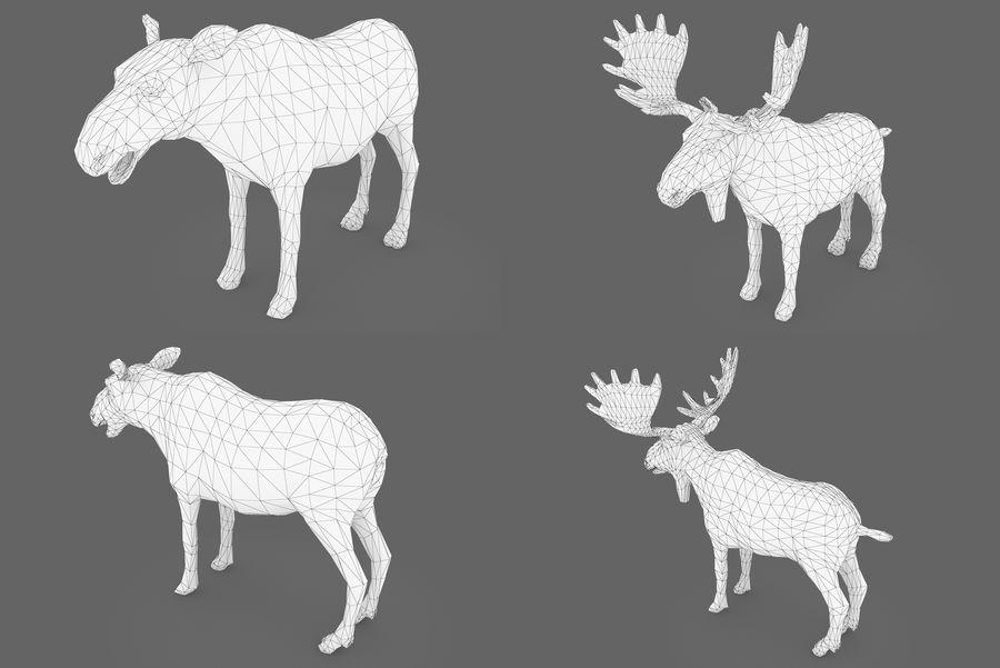 Collezione Animals Mega royalty-free 3d model - Preview no. 9