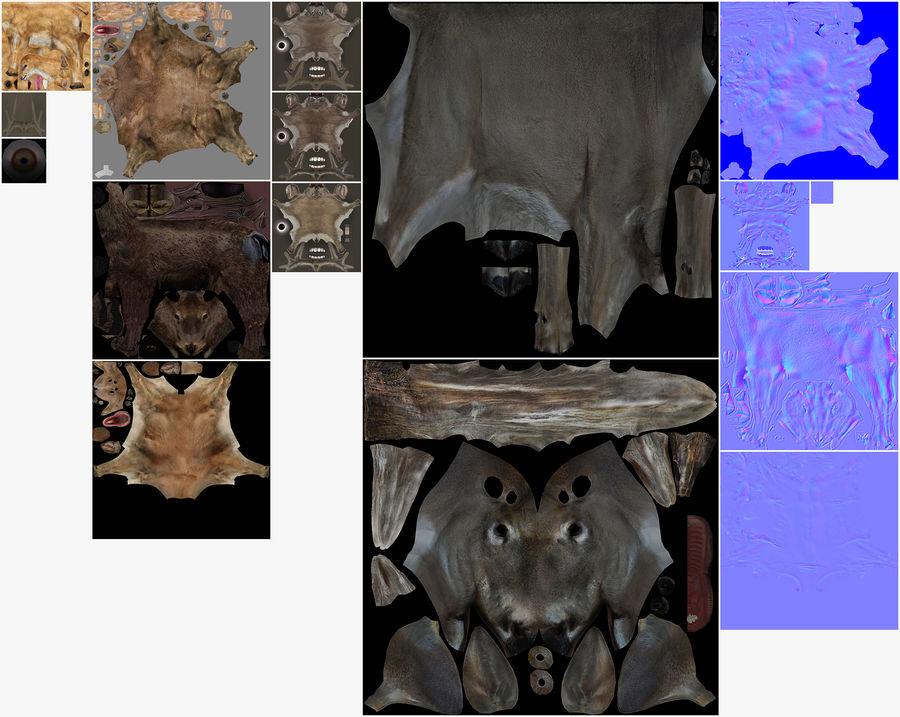Collezione Animals Mega royalty-free 3d model - Preview no. 18