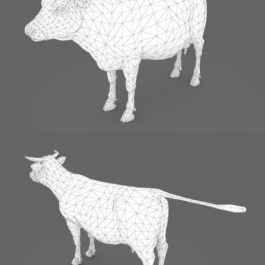 Collezione Animals Mega royalty-free 3d model - Preview no. 3