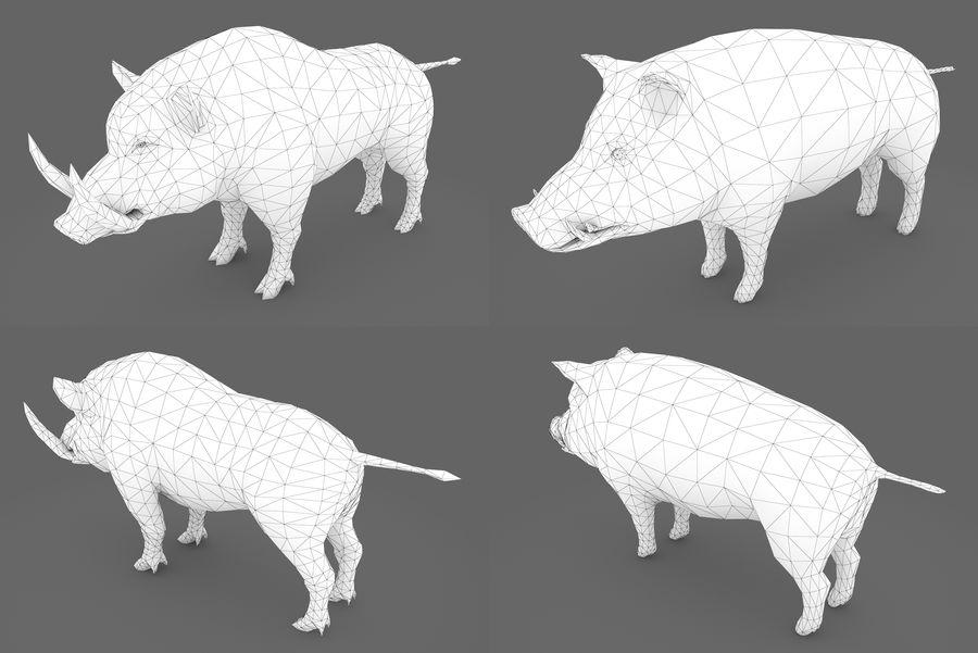 Collezione Animals Mega royalty-free 3d model - Preview no. 1