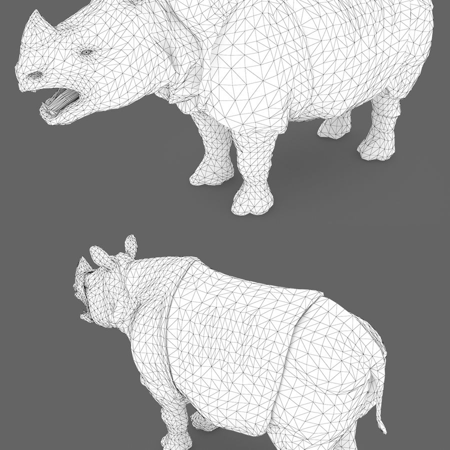 Collezione Animals Mega royalty-free 3d model - Preview no. 12