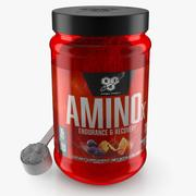 Amino Supplement with Powder 3d model
