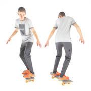 스케이트 36에 젊은 남자 3d model