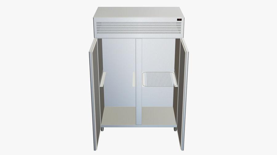 Podwójne drzwi lodówki royalty-free 3d model - Preview no. 5