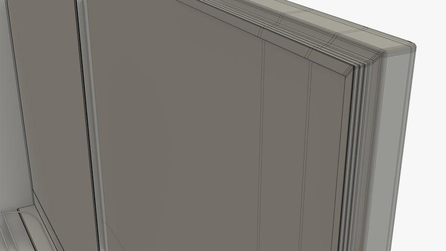 Podwójne drzwi lodówki royalty-free 3d model - Preview no. 12
