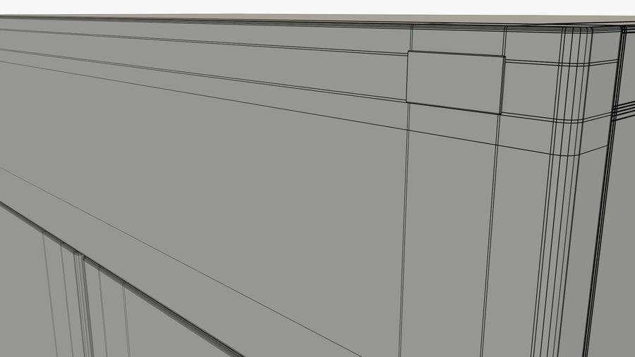 Podwójne drzwi lodówki royalty-free 3d model - Preview no. 13