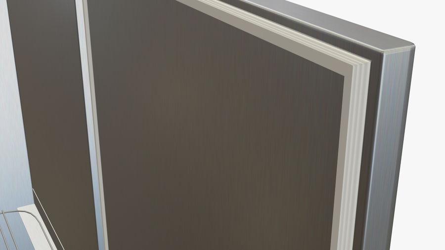 Podwójne drzwi lodówki royalty-free 3d model - Preview no. 6
