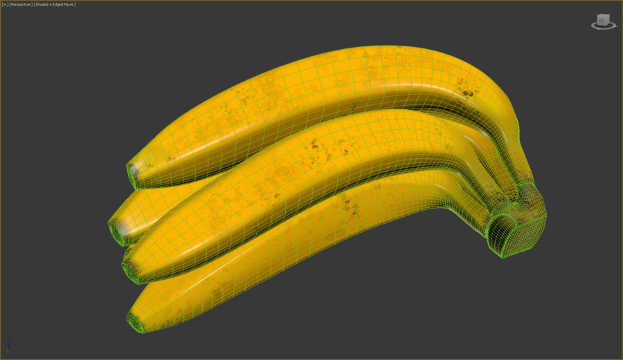 Fruits royalty-free 3d model - Preview no. 7