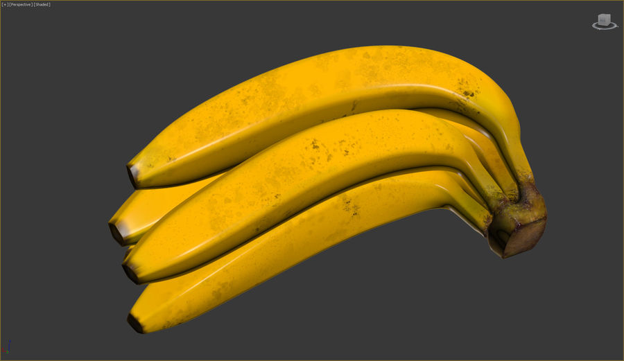 Fruits royalty-free 3d model - Preview no. 8