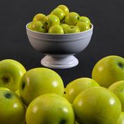 Las manzanas modelo 3d