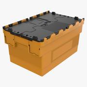 プラスチックケース 3d model