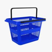 Rynek koszy plastikowych 3d model