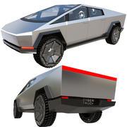 테슬라 사이버 트럭 3d model