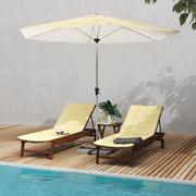 Terrassmöbler 3d model