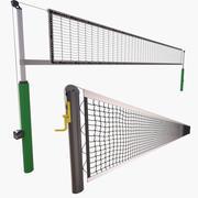 Сеть тенниса и сеть волейбола 3d model