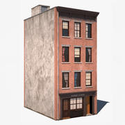 Byggnad i New York (1) 3d model