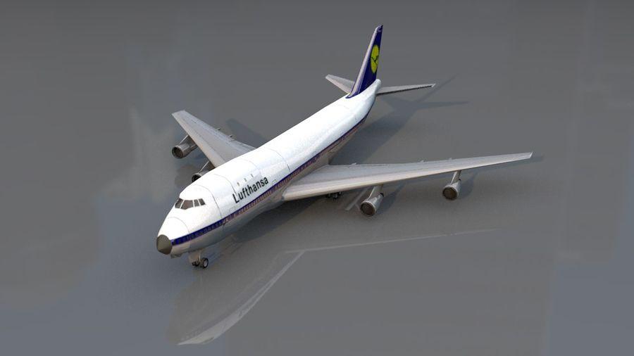 Aviões a jato royalty-free 3d model - Preview no. 2