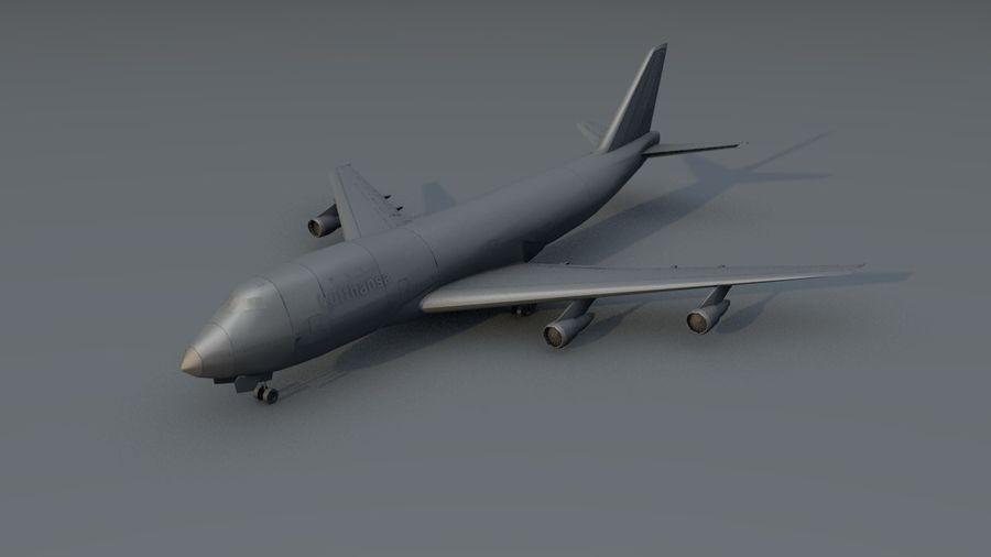 Aviões a jato royalty-free 3d model - Preview no. 17