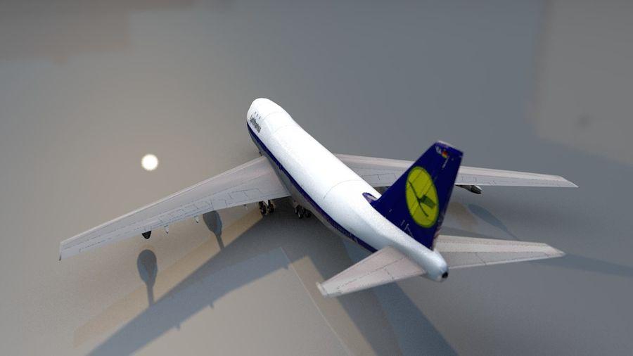 Aviões a jato royalty-free 3d model - Preview no. 11