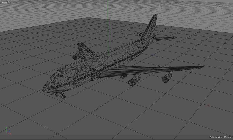 Aviões a jato royalty-free 3d model - Preview no. 18