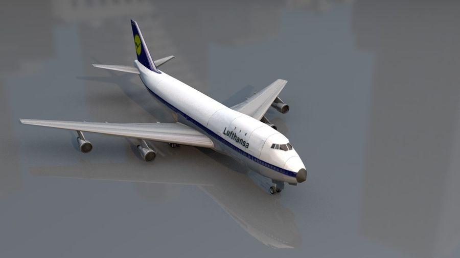 Aviões a jato royalty-free 3d model - Preview no. 5
