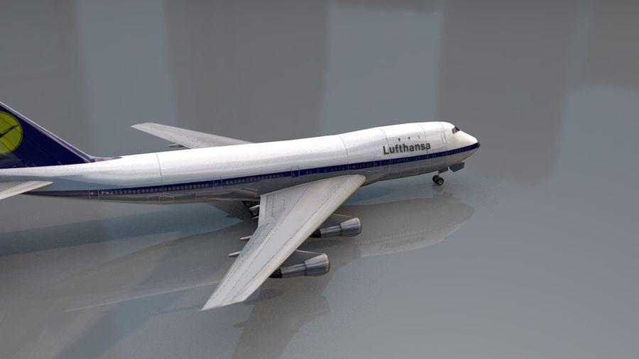 Aviões a jato royalty-free 3d model - Preview no. 8