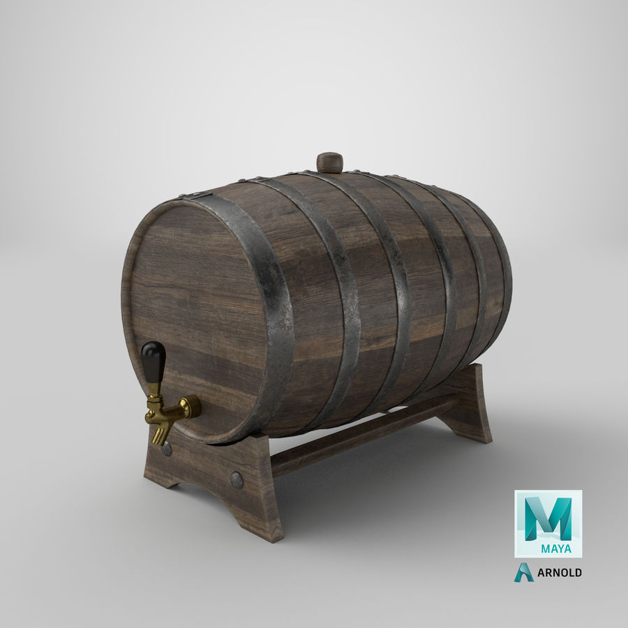 Whisky fat royalty-free 3d model - Preview no. 28