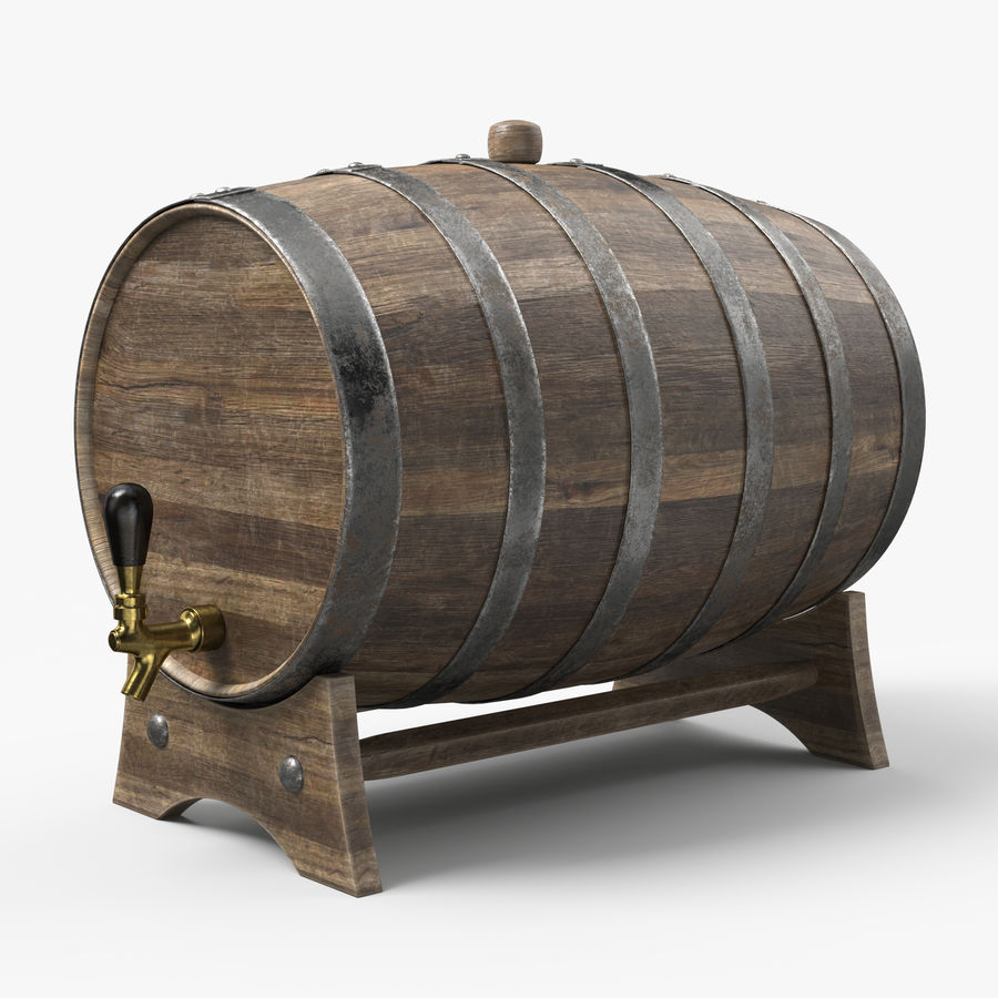 Whisky fat royalty-free 3d model - Preview no. 1