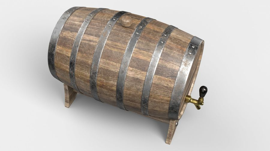 Whisky fat royalty-free 3d model - Preview no. 6