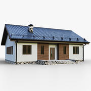 GameReady House 1 Type 1 3d model