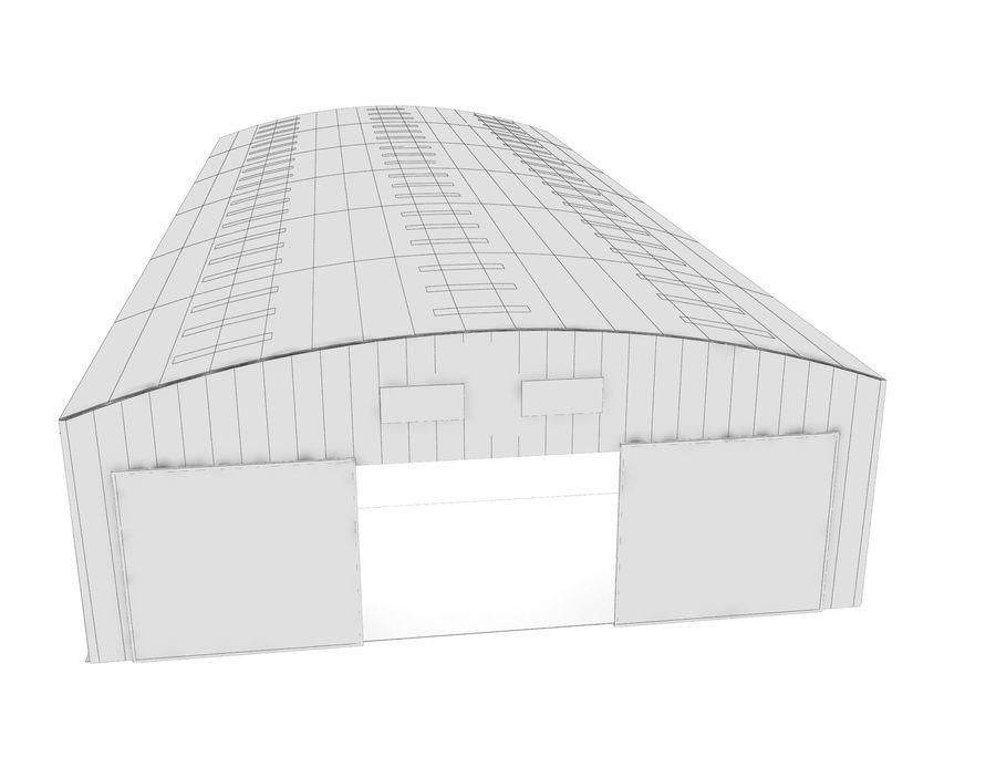 工場および航空機格納庫 royalty-free 3d model - Preview no. 8