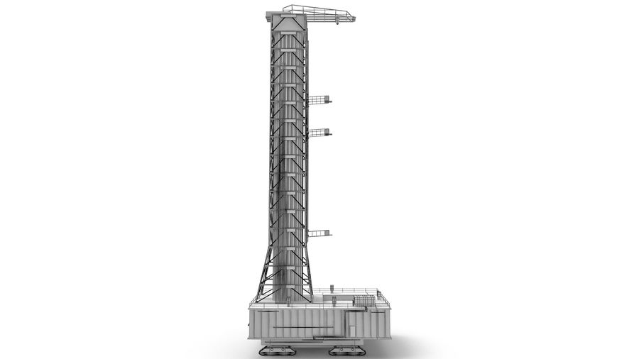 Rocket Launch Base royalty-free 3d model - Preview no. 13
